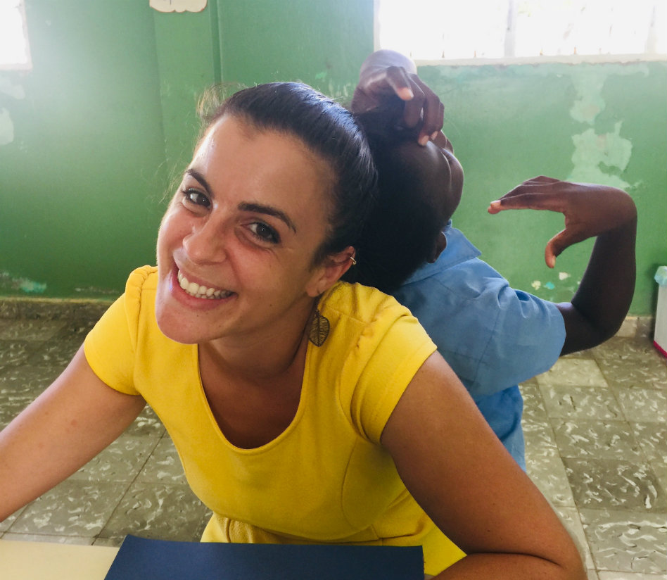 Sophia really fell in love with teaching in Costa Rica, working with the NGO 'Global Learning International'